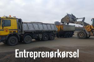 Entreprenørkørsel i Odense og Fyn