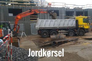 Kørsel af jord i Odense og hele Fyn
